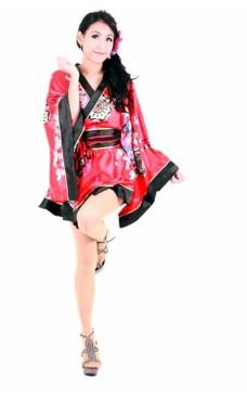 Blomstermotiv Kimono