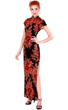 Eksklusiv Kina Klänning Asiatiska Klänningar