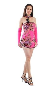 Förförisk Asien Miniklänning