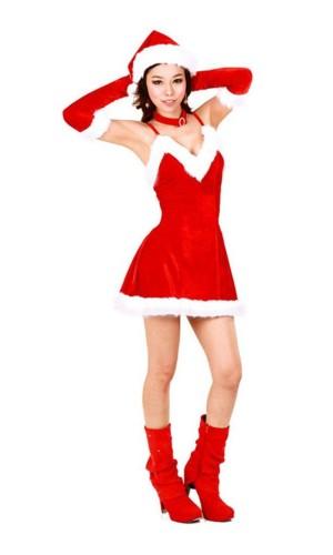 Förtjusande Tomte Klänning Jul Klänningar