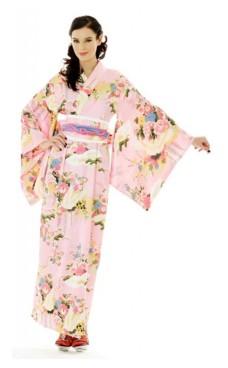 Japanska Kimono Klänning
