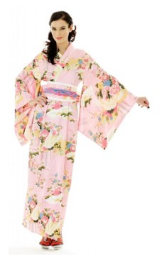 Japanska Kimono Klänning Kimono Klänningar
