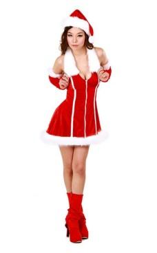 Jul Klänning Kostym Jul Klänningar
