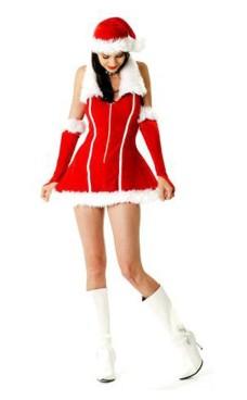 Jul Tjej Kostym Jul Klänningar