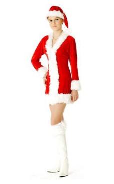 Jultomte Kostym Jul Klänningar