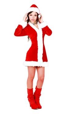 Jultomten Päls Jul Klänningar