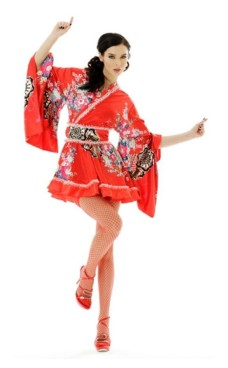 Kimono Miniklänning Kimono Klänningar