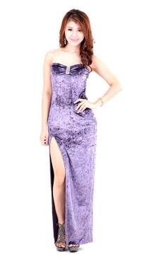 Lavendel Aftonklänning Långa  Klänningar