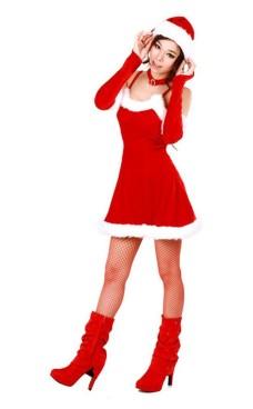 Lockande Tomte Klänning Jul Klänningar