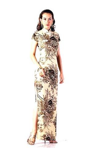 Lyxig Asien Klänning Asiatiska Klänningar