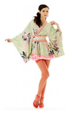 Mini Kimono Kostym Kimono Klänningar