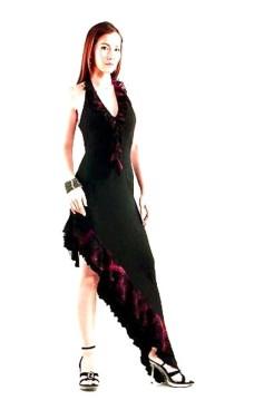 Sexig Flamenco Klänning Långa  Klänningar