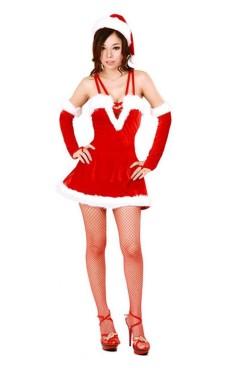 Sexig Jul Kostym Jul Klänningar