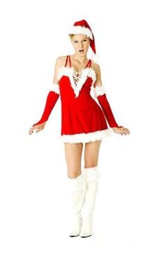 Sexig Jultomte Klänning Jul Klänningar