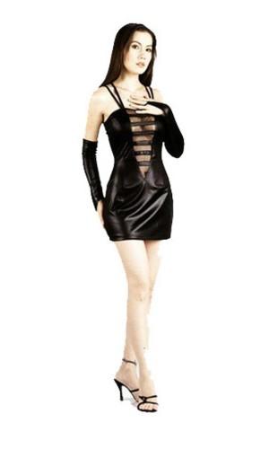 Sexig Svart Miniklänning Korta  Klänningar