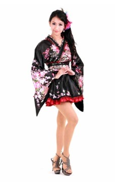 Två Tonas Japanska Kimono Kimono Klänningar