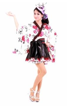 Utsökt Stil Kimono Kimono Klänningar