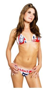 Vit Budweiser Bikini Bikinis